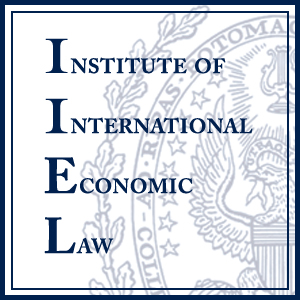 Institute of International Economic Law logo