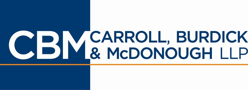 CBM: Carroll, Burdick & McDonough LLP