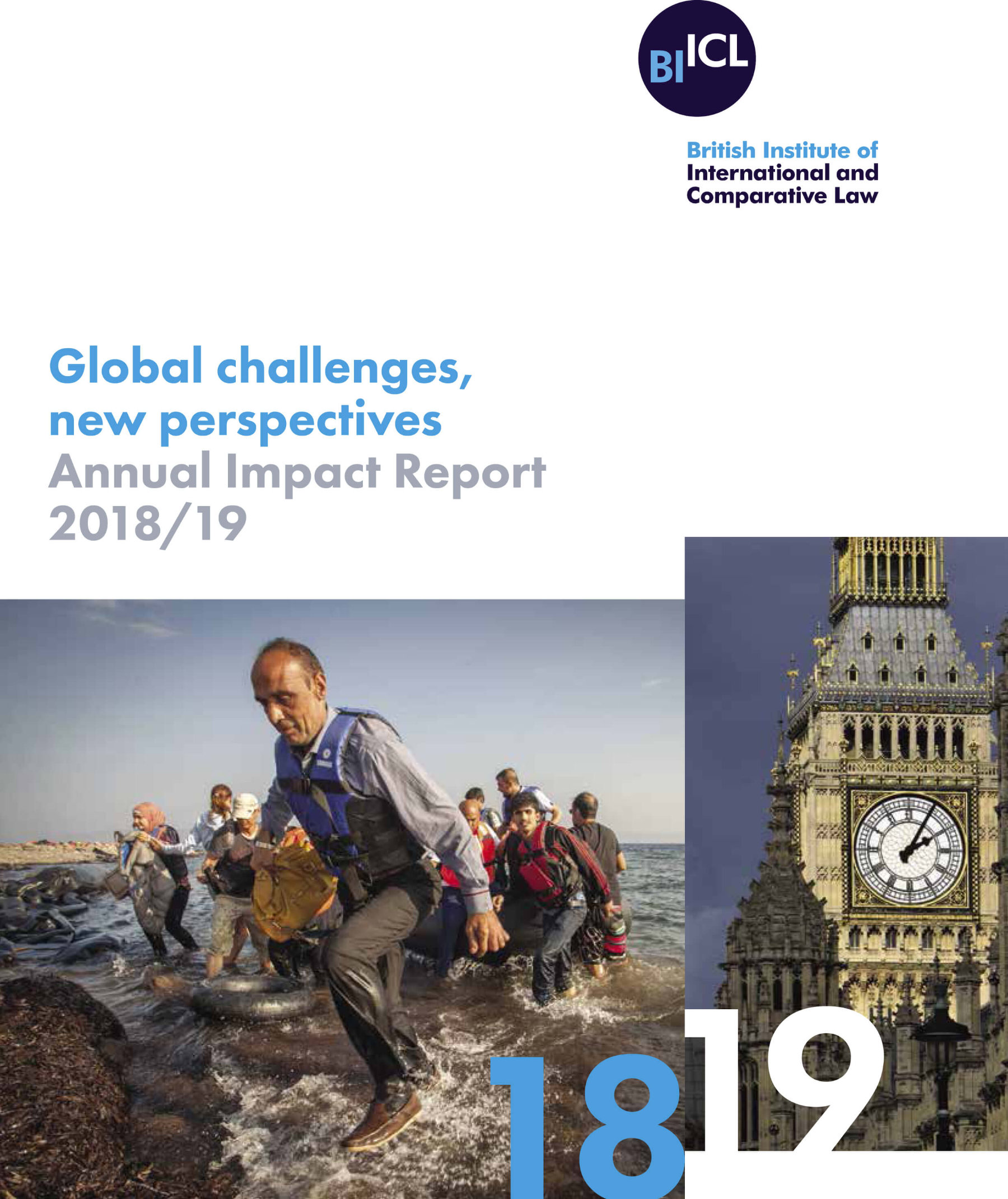 BIICL impact report cover 2019