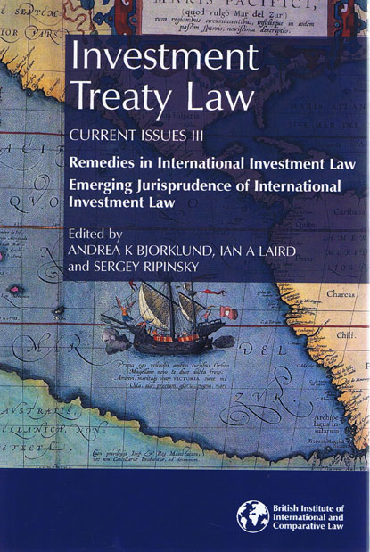 Investment Treaty Arbitration Books